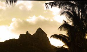 Peak in Bora Bora
